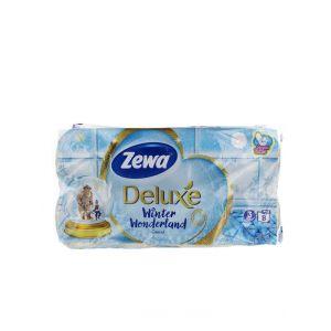 Zewa Hartie toaleta 3 straturi Deluxe 8 role Winter Wonderland