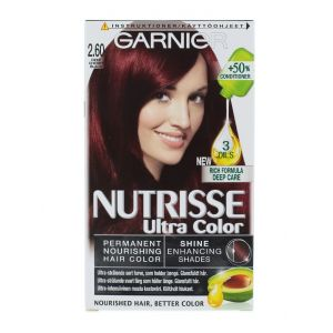 Garnier Vopsea de par Nutrisse Ultra Color 2.60 Deep Cherry Black