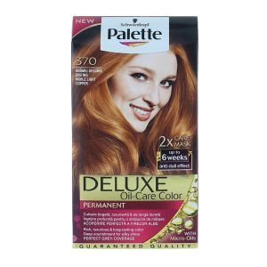 Palette Vopsea de par Deluxe Oil-Care Color 370 Noble Light Copper