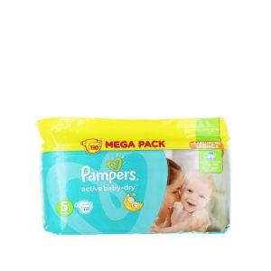 Pampers Active Baby Dry nr.5 Junior 11-18 kg 110 buc Mega Pack