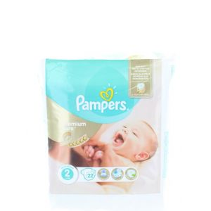 Pampers New Baby nr.2 3-6 kg 22 buc Premium Care