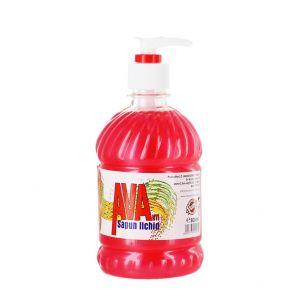 Ava Sapun lichid cu pompa 500 ml Rosu