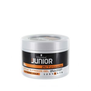 Schwarzkopf Junior Gel de par 200 ml NR:5 Extreme Hold