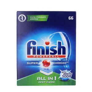 Finish Tablete pentru masina de spalat vase 66 buc Baking Soda