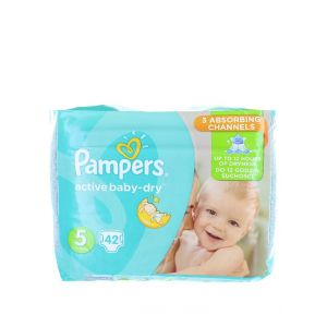 Pampers Active Baby Dry nr.5 11-18 kg 42 buc