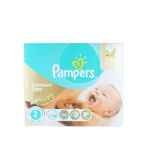 Pampers New Baby nr.2 3-6 kg 148 buc Premium Care