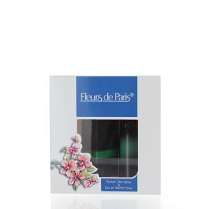 Fleurs de Paris Caseta femei:Spray deodorant+Parfum 75+30 ml Noir
