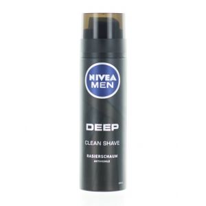 Nivea Spuma de ras 200 ml Deep Black