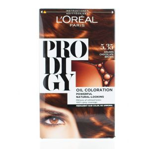 L'oreal Vopsea de par Prodigy 5.35 Golden Chocolate Brown