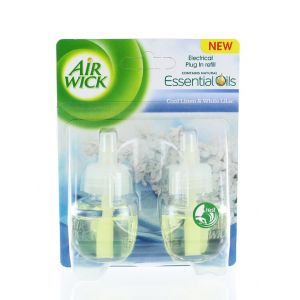 Airwick Rezerva aparat electric 2x19 ml Cool Linen & White Lilac