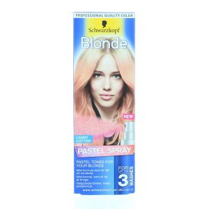 Schwarzkopf Spray colorant pentru par 125 ml Blonde Candy Cotton