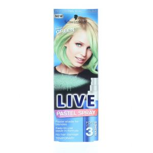 Schwarzkopf Spray colorant pentru par 125 ml Live Mint Green