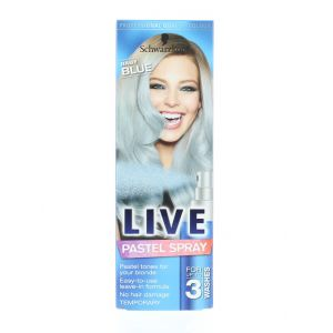 Schwarzkopf Spray colorant pentru par 125 ml Live Baby Blue