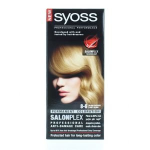 Syoss Vopsea de par Salonplex 8-6 Light Blonde