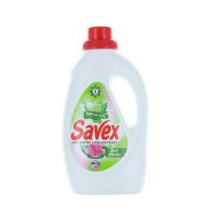 Savex Detergent lichid 1.1 L 20 spalari 2in1 Fresh
