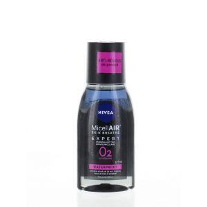 Nivea Demachiant De Ochi Bifazic 125 ml O2 Waterproof Sensitive