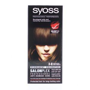 Syoss Vopsea de par Salonplex 3-8 Sweet Brunette