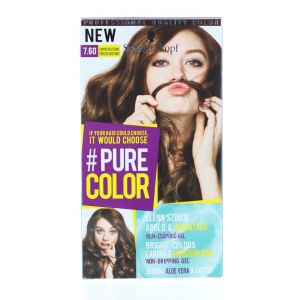Schwarzkopf Vopsea de par Pure Color 7.60 Frosted Chestnut