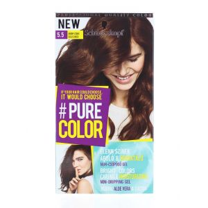 Schwarzkopf Vopsea de par Pure Color 5.5 Gold Choco