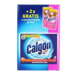 Calgon Tablete anticalcar+2xVanish Detergent indepartat pete Plic 48buc+2x90 g