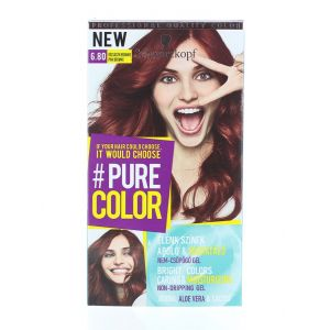 Schwarzkopf Vopsea de par Pure Color 6.80 Pink Brownie
