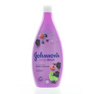 Johnson's Spuma de baie Vita-Rich 750 ml Rigenerante