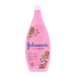 Johnson's Spuma de baie Vita-Rich 750 ml Illuminante