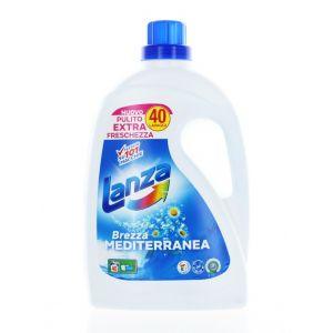Lanza Detergent lichid 2 L 40 spalari Brezza Mediterranea