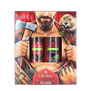 Old Spice Caseta:Spray deodorant+Gel de dus 150+250 ml Timber