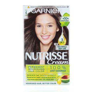Garnier Vopsea de par Nutrisse Cream 4 Cocoa Brown