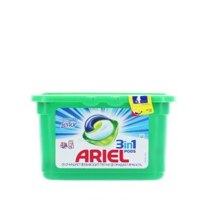 Ariel Detergent Capsule 3in1 12 buc Touch Of lenor