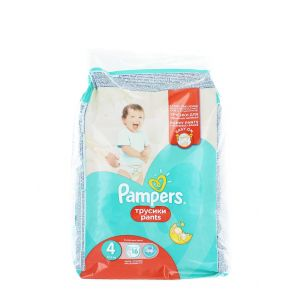 Pampers scutece chilotel nr. 4 Extra Large 8-14 kg 16 buc