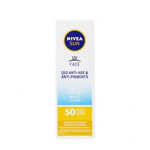 Nivea Crema de fata cu protectie solara 50 ml Q10 SPF 50 High