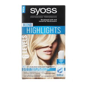 Syoss Vopsea de par H1 Blond Highlights