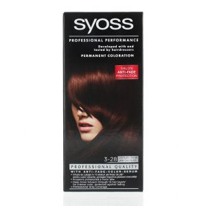 Syoss Vopsea de par 3-28 Dark Chocolate