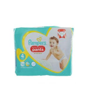 Pampers scutece chilotel nr.4 9-15 kg 32 buc Premium Protection