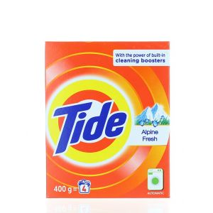 Tide Detergent automat in cutie 400 g Alpine Fresh