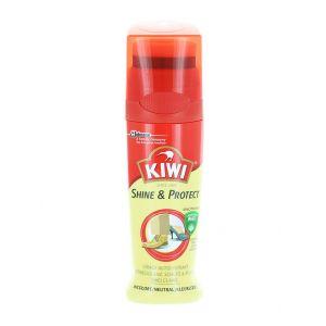 Kiwi Crema lichida de pantofi cu burete 75 ml Shine&Protect Incolor