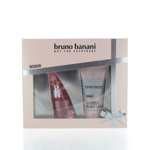 Bruno Banani Caseta femei:Parfum+Gel de dus 20+50ml Woman