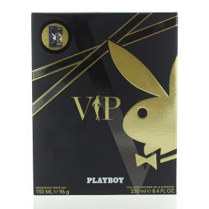 Playboy Caseta barbati:Spray deodorant+Gel de dus 150+250 ml VIP