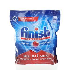 Finish Tablete pentru masina de spalat vase 50 buc All in 1 Max