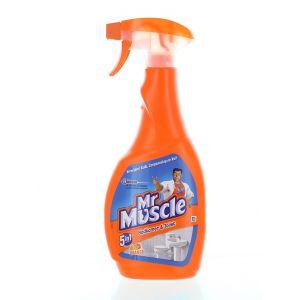 Mr. Muscle Solutie curatat suprafete baie cu pompa 500 ml 5in1 Portocale