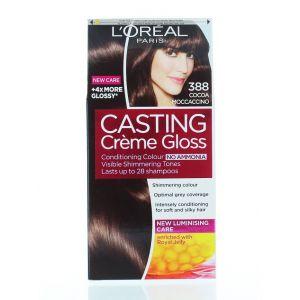 L'oreal Vopsea de par Casting Creme Gloss 388 Cocoa Moccaccino