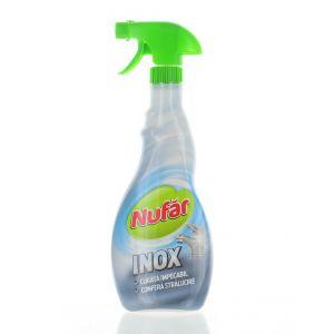 Nufar Solutie curatat suprafete inox cu pompa 500 ml