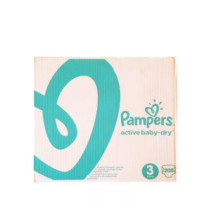 Pampers Active Baby Dry nr.3 5-9 kg 208 buc