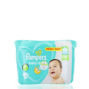 Pampers Baby Dry 4+ Air Channels 10-15 kg 92 buc