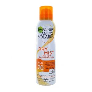 Garnier Ambre Solaire Spray de bronzare 200 ml SPF 30 Dry Mist