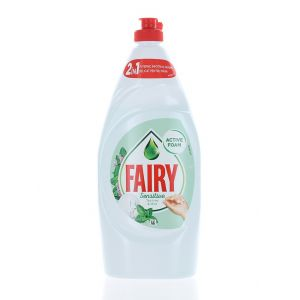 Fairy Detergent pentru vase 800 ml Sensitive Tea Tree