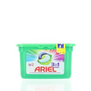 Ariel Detergent Capsule 3in1 12 buc Color