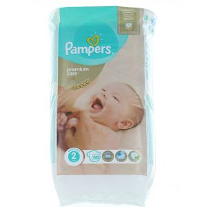 Pampers New Baby nr.2 3-6 kg 50 buc Premium Care